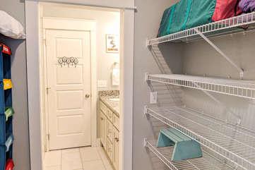 2nd Floor Full Bathroom with Walk in Shower