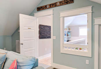 Entrance from landing to 2nd Floor Kids Room