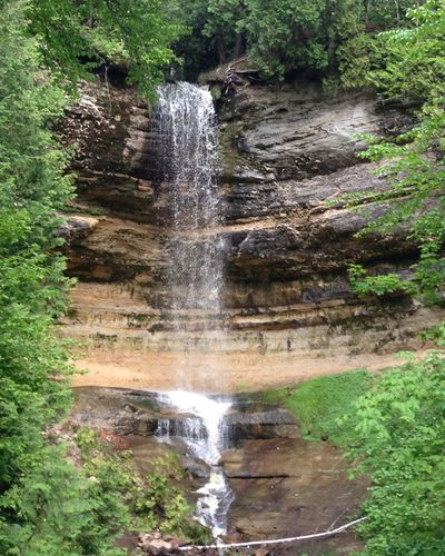Munising Falls nearby. Along with 12 other waterfalls within 30 minutes of home.