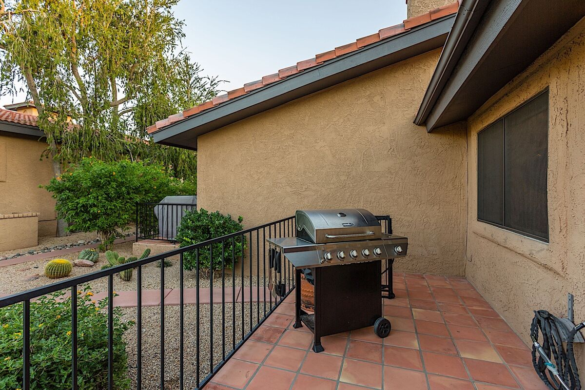 Stainless Steel BBQ On Your Patio