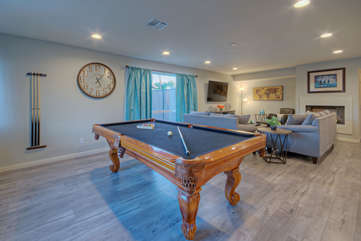 It's time to practice your bank shots on beautiful billiards table
