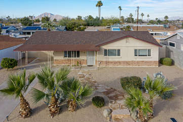Welcome to our one story Tempe home in prime location for enjoying Papago Park