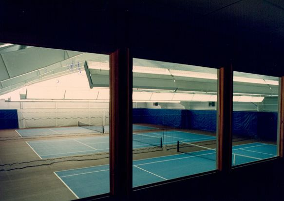 Yonahlossee tennis courts