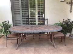 Large Patio Table that seats eight