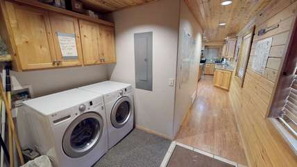 A washer and dryer are available for use during your stay.