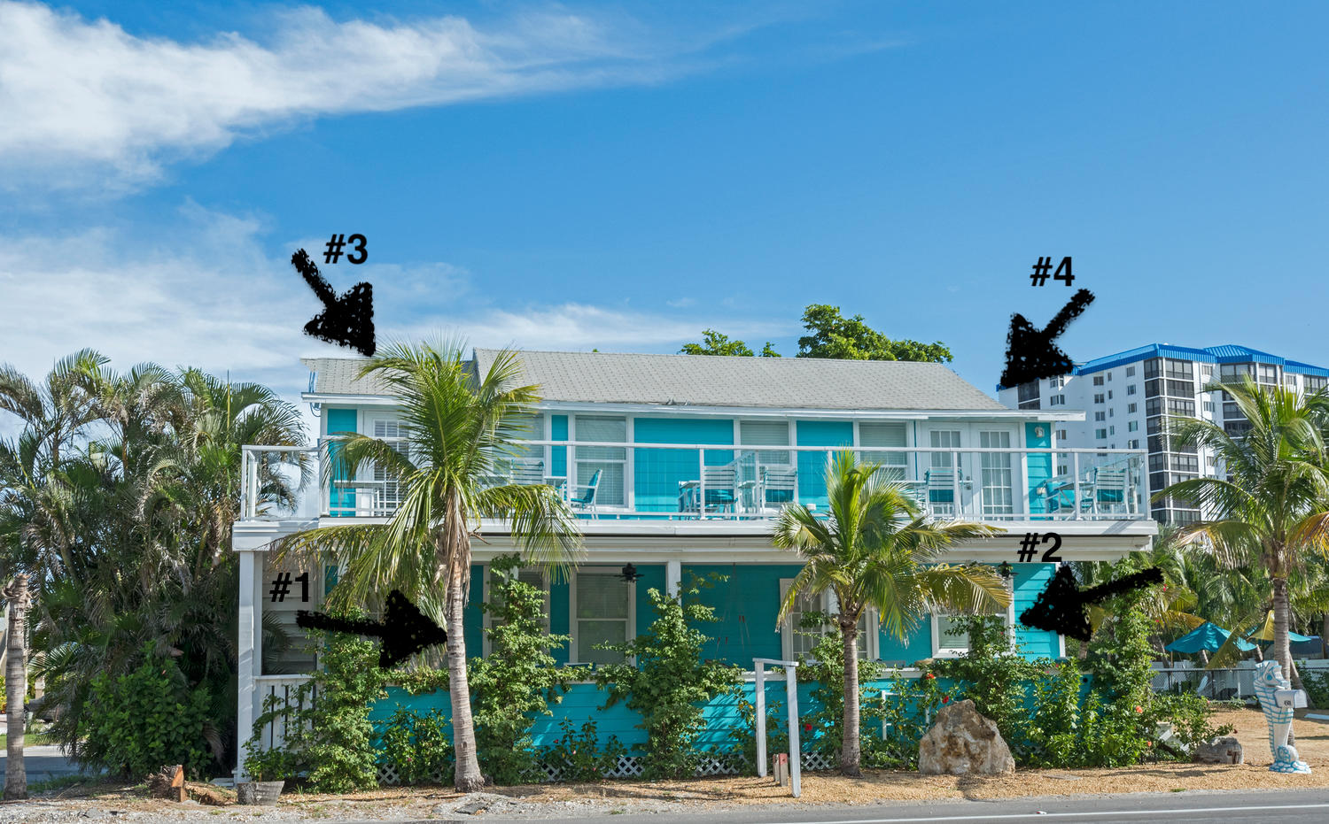 Oceanic building, here are located Oceanic 1,2,3,4 - all are 2 bedroom units!