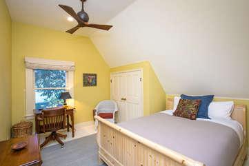 Upstairs bedroom — your cozy nest
