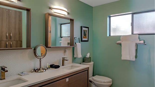 Dual Vanities in Bathroom - Heart of Sedona