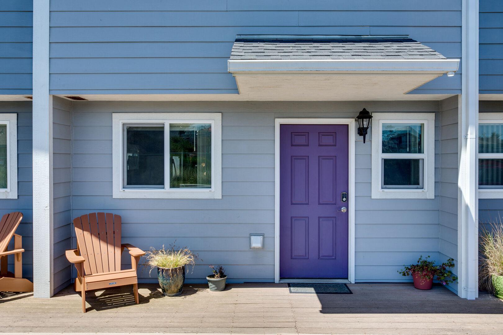 Nye Beach Townhomes Purple Door