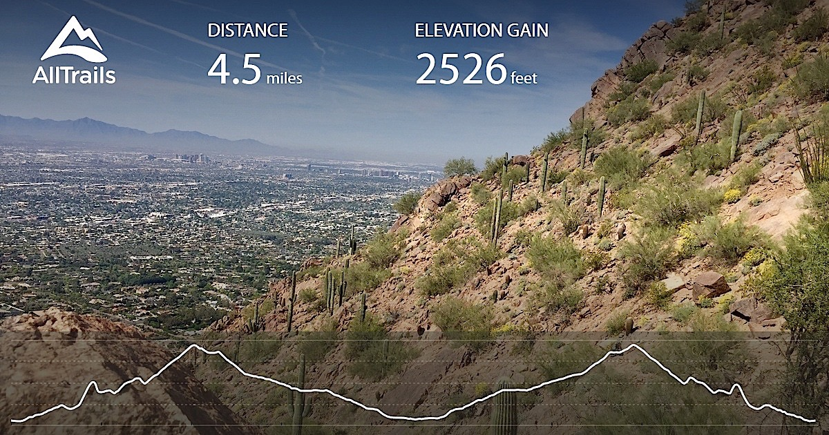 Camelback Hiking Trail