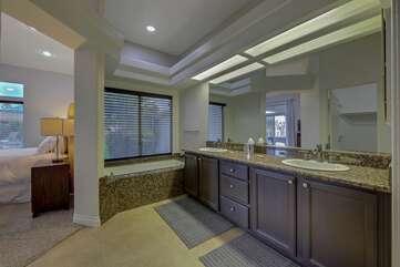 Master bathroom. Bathroom 1 Full Bath
