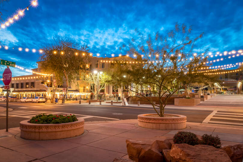 Steps away from the Scottsdale Fashion Square