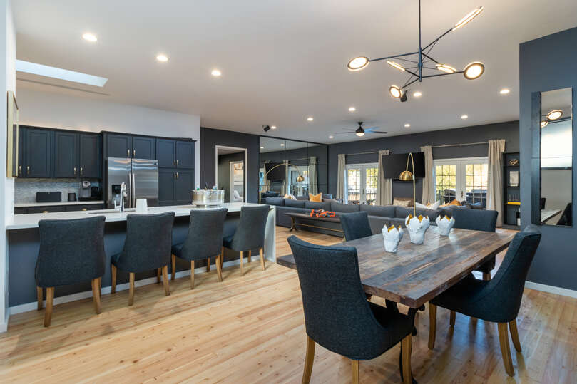 Enjoy an expansive floor plan and modern design