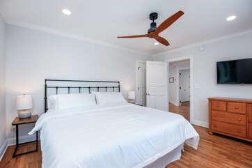 Second Floor Bedroom w/TV