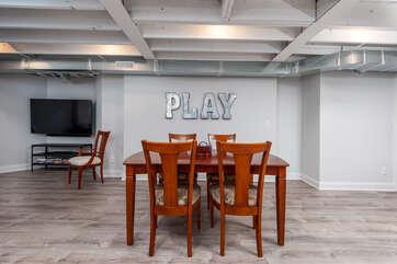 Lower Level Family & Game Room