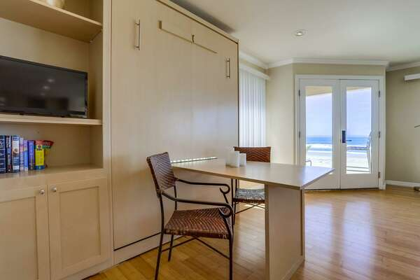 Murphy Bed - Eating Area or Work Spaces