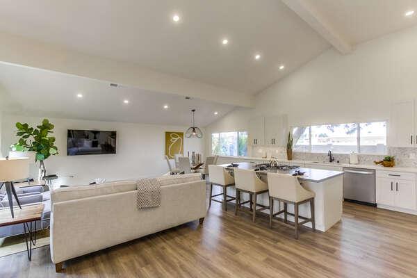 Main Floor - Open Concept Living