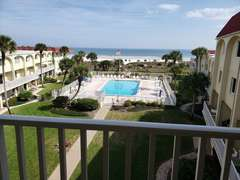Welcome to Spanish Trace #458. Balcony view of St. Augustine Beach