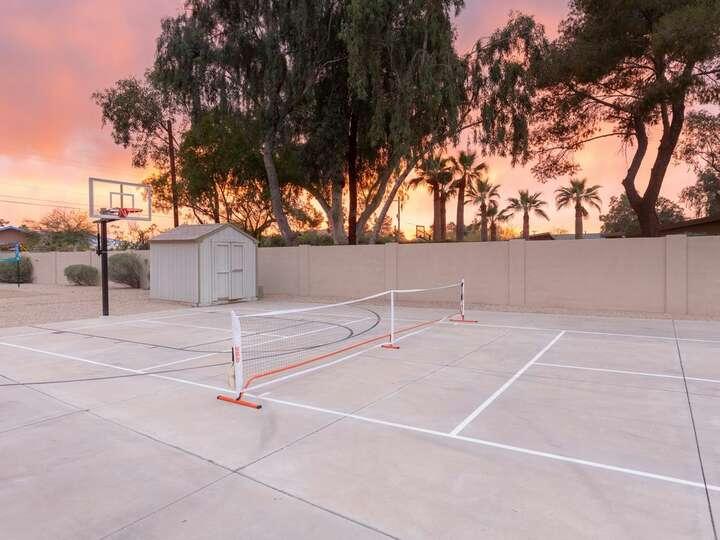 Tennis Court or Pickball