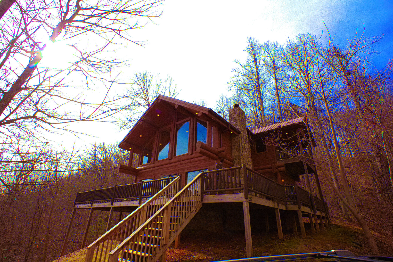 Cabin in the Clouds - Bryson City, NC