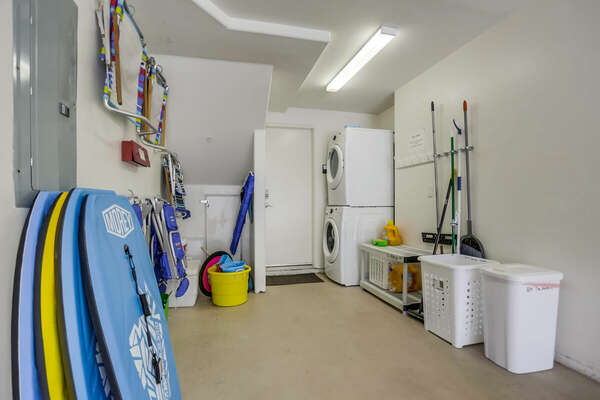 Garage and Laundry