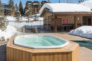 Two community hot tubs to enjoy a few steps from the townhome