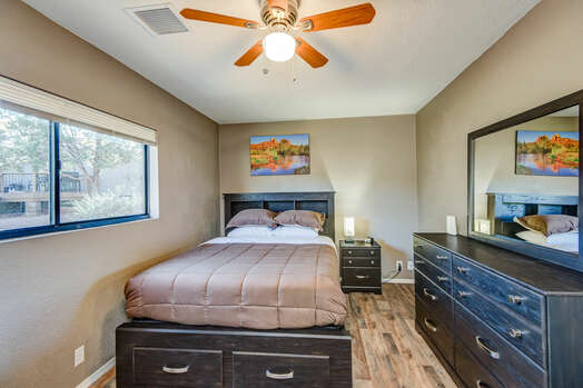 Casita Bedroom with Queen Bed