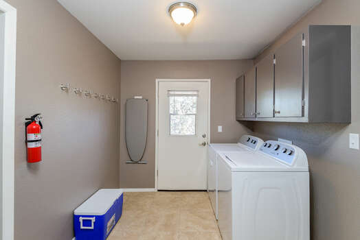 Laundry Room with Full Size Washer / Dryer