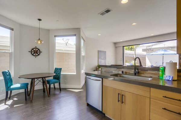 Kitchen and Breakfast Nook - First Floor