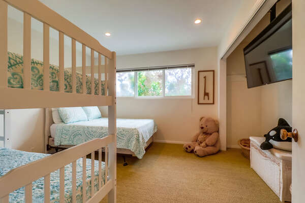 Bunk Room - Perfect for Kids!