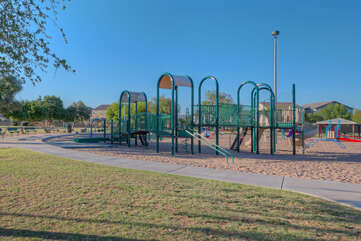 City park is adjacent to complex and offers family fun for all ages