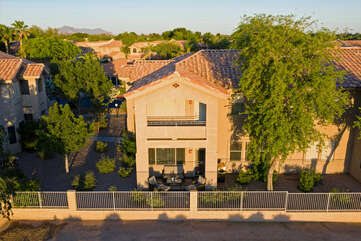 Popular and gated community is ideally located to enjoy the greater Mesa area