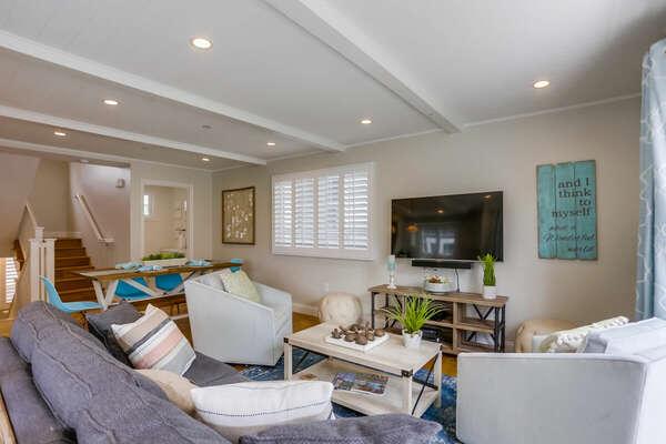 Living Room, Second Floor
