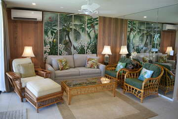 Tropical living area