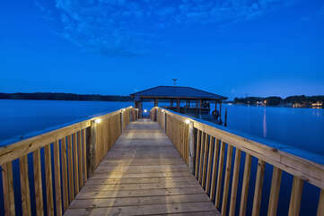 Paradise or Lake Norman?! It's all the same with this exquisite boardwalk