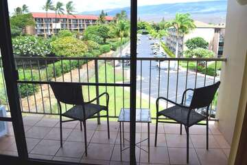 Enjoy the mountain view from your private lanai