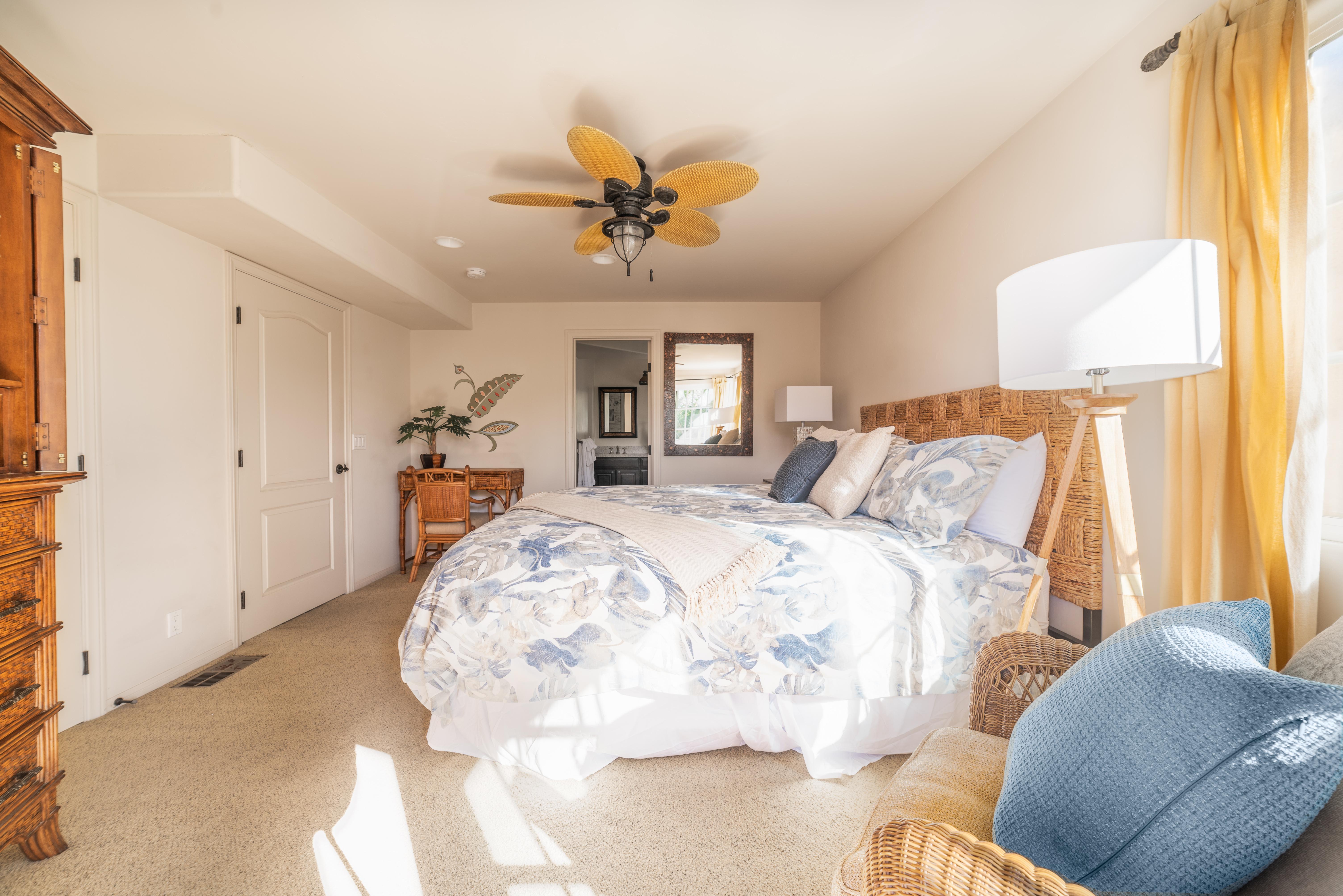 Master Bedroom and En-Suite Bath - Third Floor