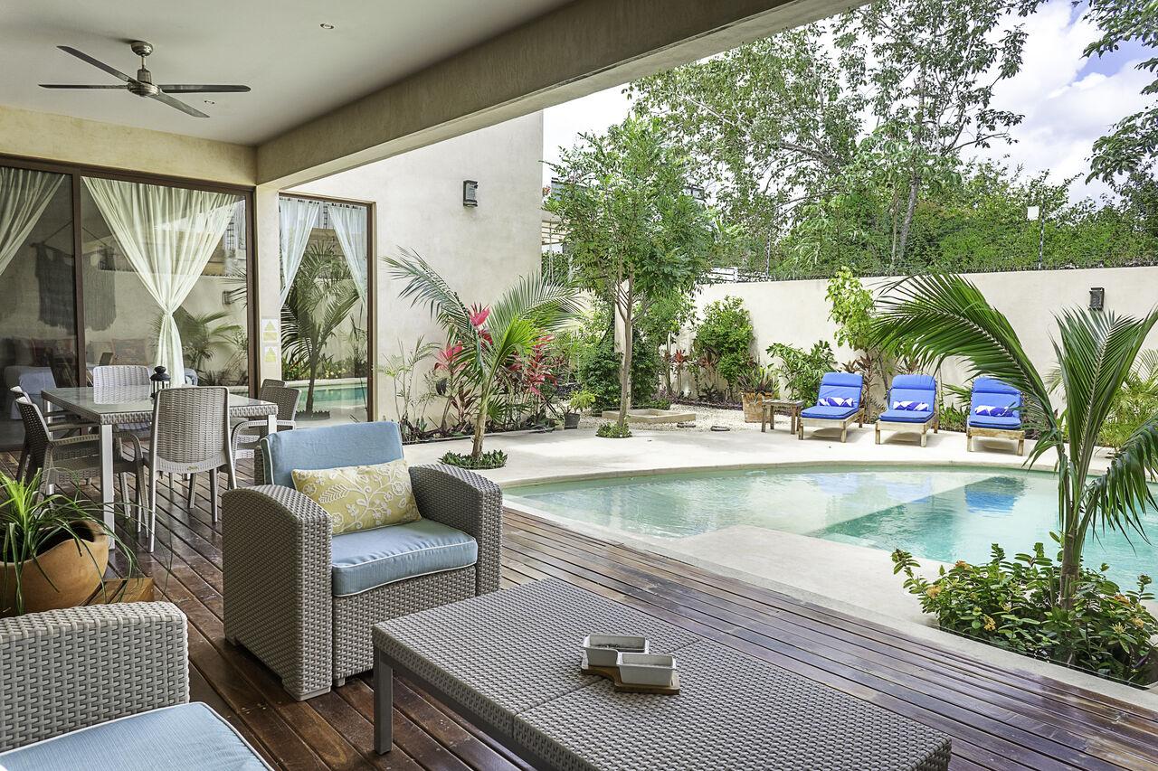 Apartment Casa Nova     Spacious 3BD Villa Tulum     Private pool photo 26860748