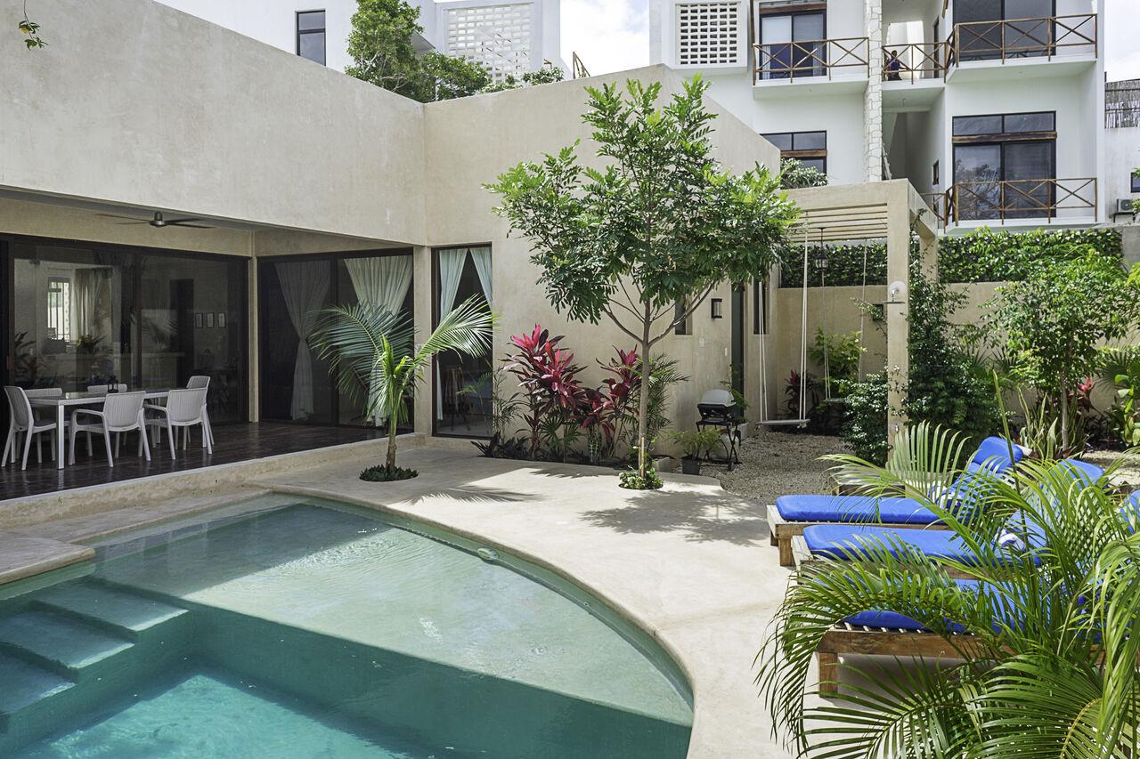 Apartment Casa Nova     Spacious 3BD Villa Tulum     Private pool photo 26860758