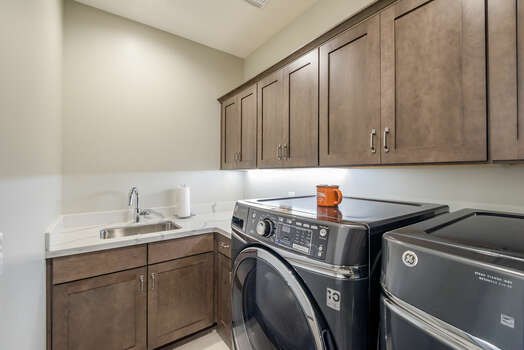 Laundry Room with a Sink