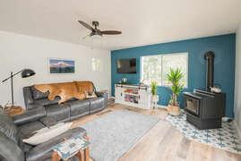 Living room 1 - Wood stove