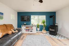 Living room 2 - Wood stove