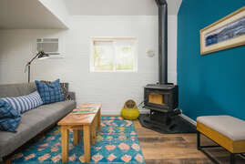 Living room - Wood stove