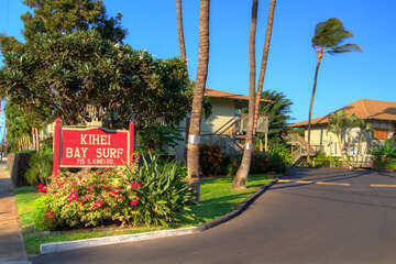 Kihei Bay Surf property entrance