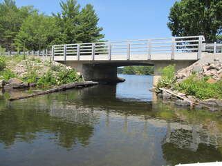 The Trickle from Tea Lake to Trent Severn Waterway