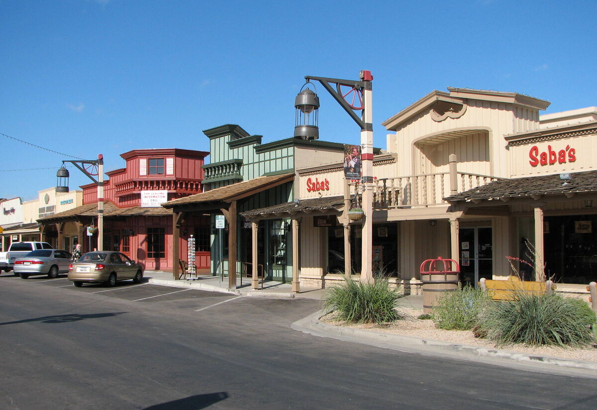 Old Town Scottsdale shops and art galleries