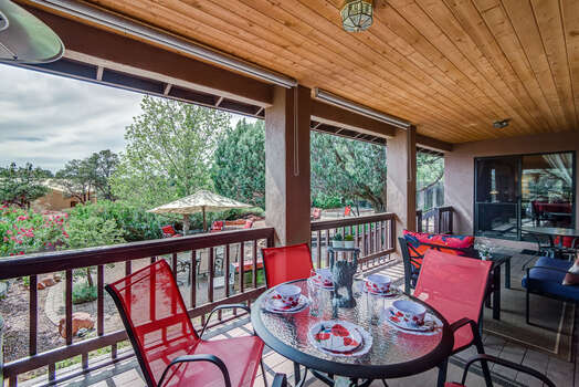 300 Sq Ft Deck with Western Views of the Hills