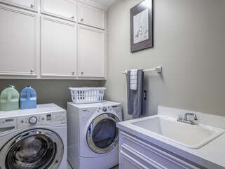 Laundry room on first level