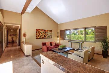 Living Room to Bedroom Hallway