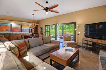 Family Room Out to Pool